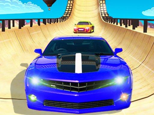 Jeu Ramp Car Stunts Impossible
