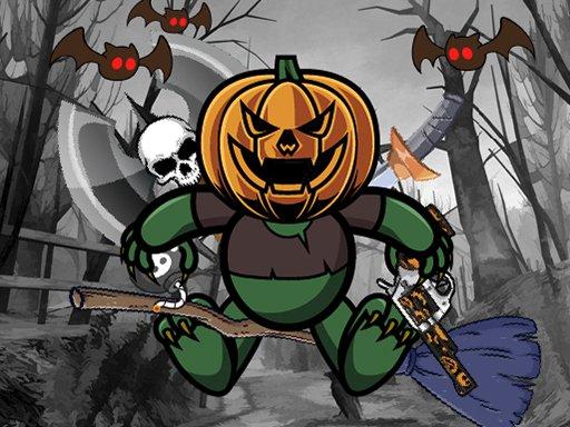 Jeu Pumpkin Monster