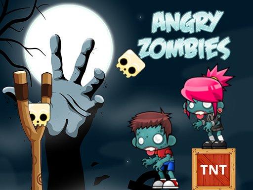 Jeu Angry Zombies