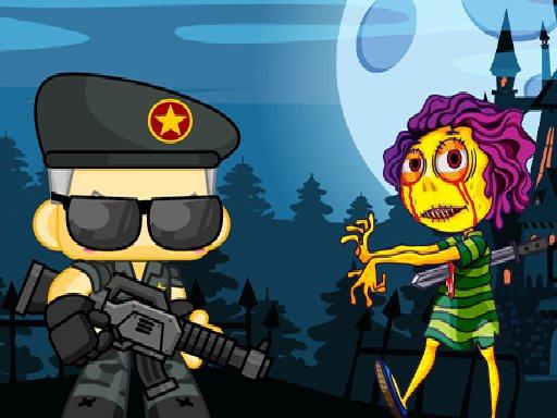 Jeu Zombie Shooter 2D
