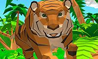 Jeu Simulateur de tigre 3D